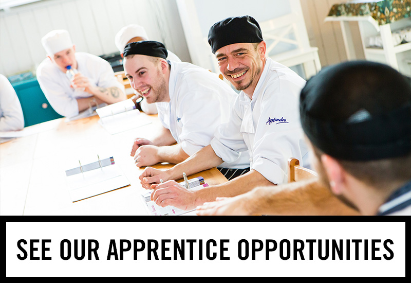 Apprenticeships at The Duke Of Devonshire