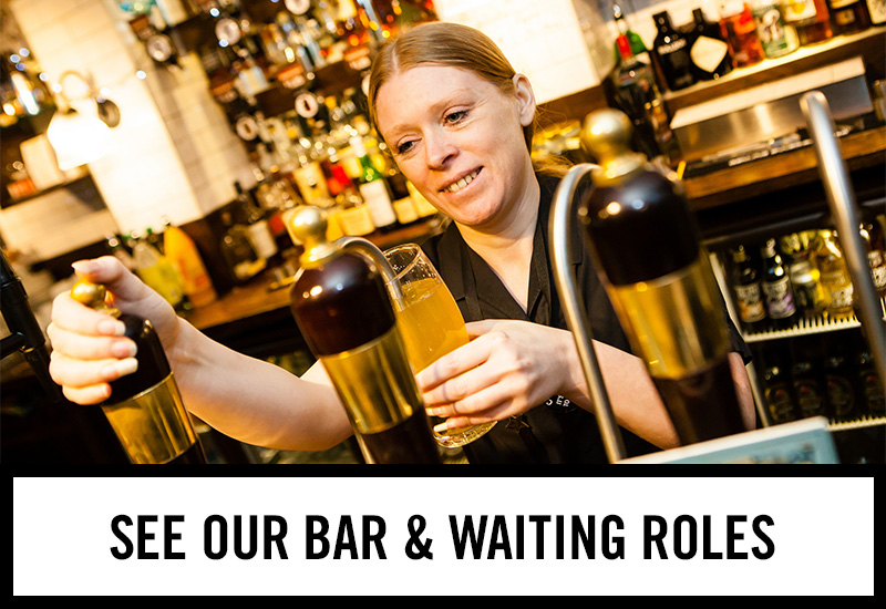 Bar roles at The Duke Of Devonshire