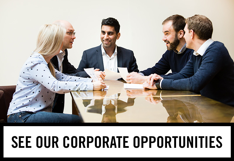 Corporate opportunities at The Duke Of Devonshire