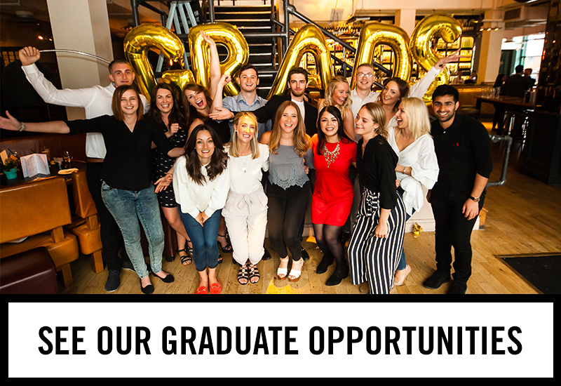 Graduate opportunities at The Duke Of Devonshire