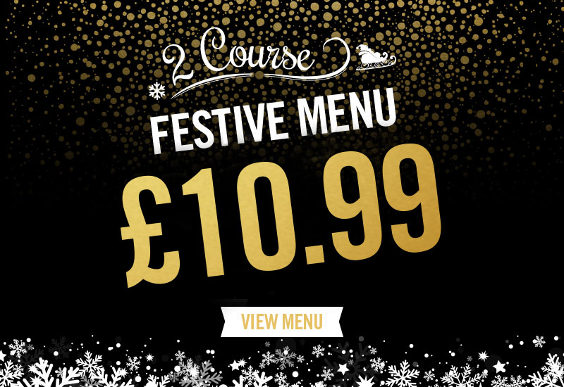Festive Menu at The Duke Of Devonshire
